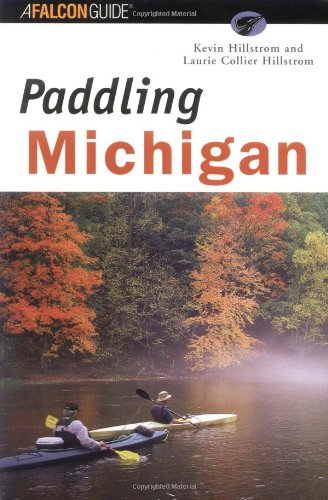 Paddling Michigan   2001 9781560448389 Front Cover