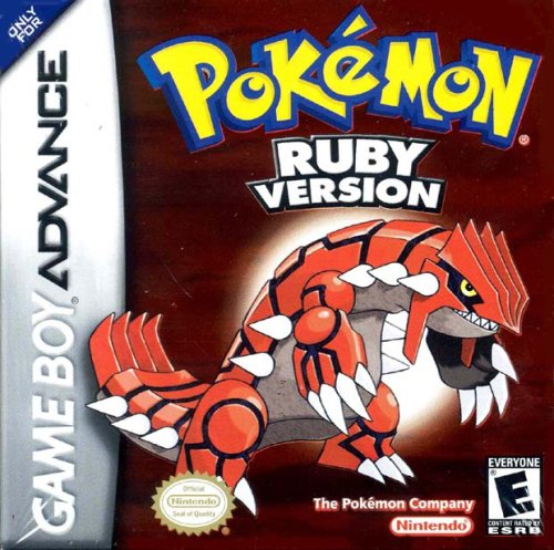 Pokémon Ruby Version Game Boy Advance artwork