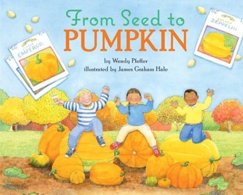 From Seed to Pumpkin   2002 9780060280390 Front Cover