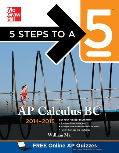 5 Steps to a 5 AP Calculus BC 2014-2015   2013 edition cover