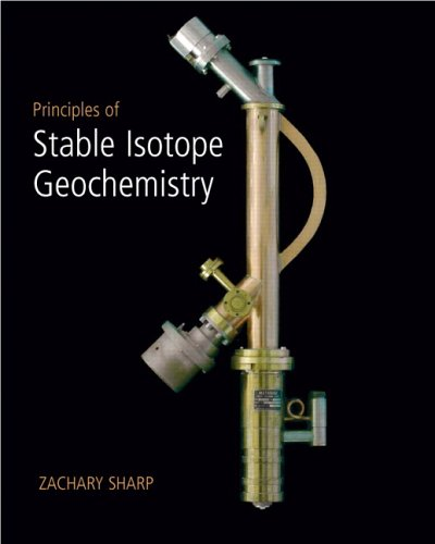 Principles of Stable Isotope Geochemistry   2007 edition cover
