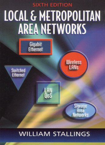 Local and Metropolitan Area Networks  6th 2000 (Revised) edition cover