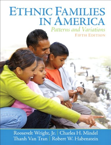 Ethnic Families in America Patterns and Variations 5th 2012 edition cover