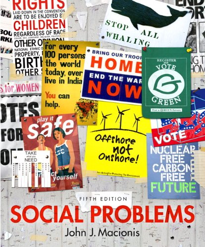 Social Problems  5th 2013 (Revised) 9780205881390 Front Cover