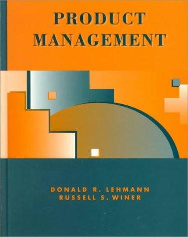 Product Management 2nd 1997 9780256214390 Front Cover