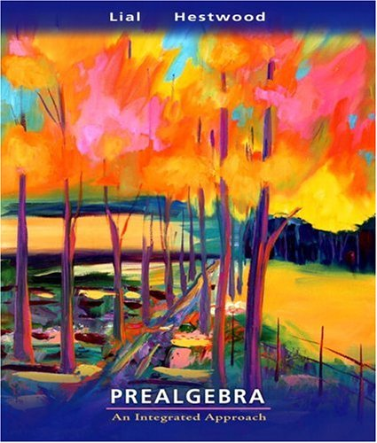 Prealgebra An Integrated Approach  2008 edition cover