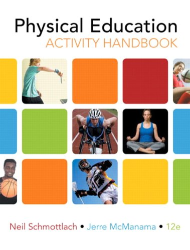 Physical Education Activity Handbook  12th 2010 edition cover