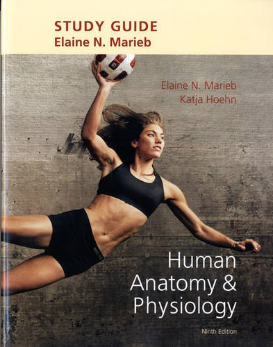 Study Guide for Human Anatomy and Physiology  9th 2013 edition cover