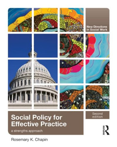 Social Policy for Effective Practice A Strengths Approach 2nd 2011 (Revised) edition cover