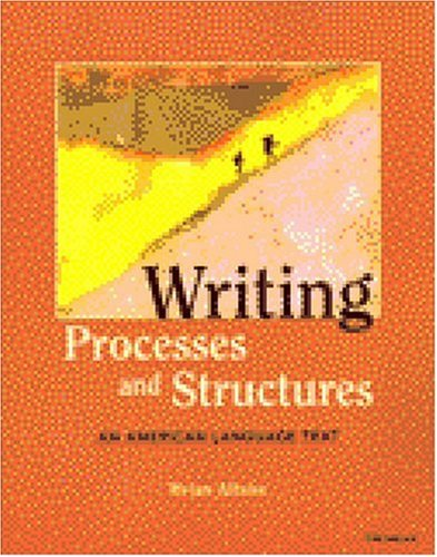 Writing Processes and Structures An American Language Text  2004 edition cover