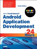 Android Application Development in 24 Hours, Sams Teach Yourself  4th 2016 edition cover