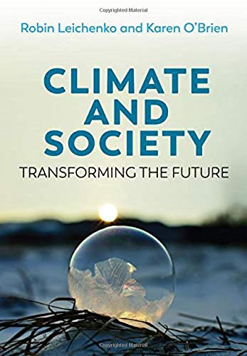 Cover art for Climate and Society: Transforming the Future, 1st Edition