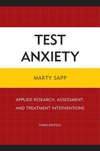 Test Anxiety Applied Research, Assessment, and Treatment Interventions 3rd 2014 (Revised) edition cover