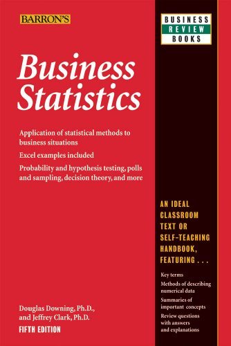 Business Statistics  5th 2010 (Revised) edition cover