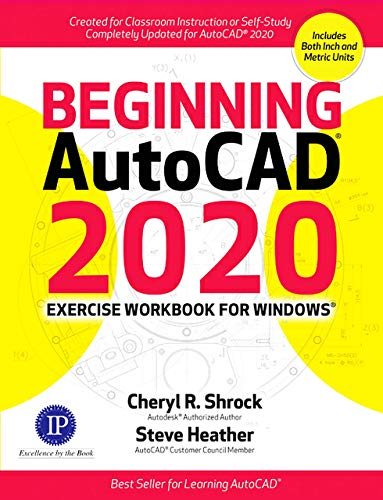 Beginning AutoCAD 2020 Exercise Workbook   2019 9780831136390 Front Cover