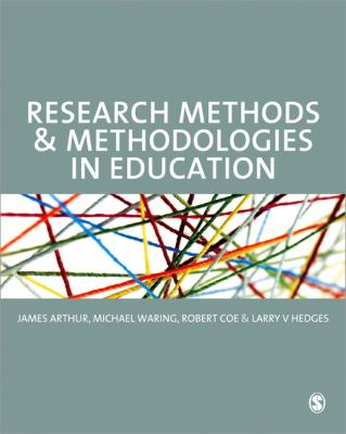 Research Methods and Methodologies in Education   2012 edition cover