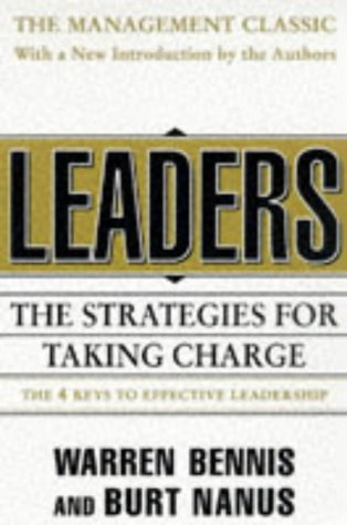 Leaders The Strategies for Taking Charge 2nd 1997 (Revised) edition cover