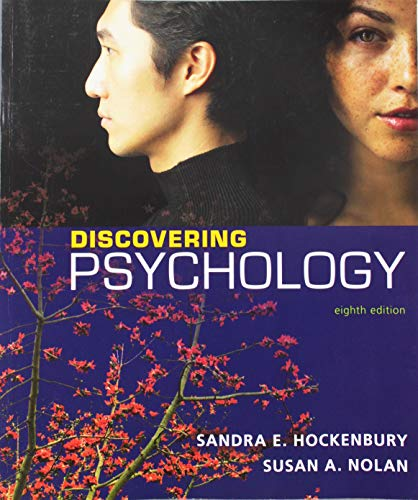 Discovering Psychology  8th 2019 9781319136390 Front Cover