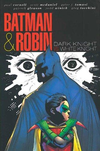 Batman and Robin Dark Knight vs. White Knight  2012 9781401235390 Front Cover