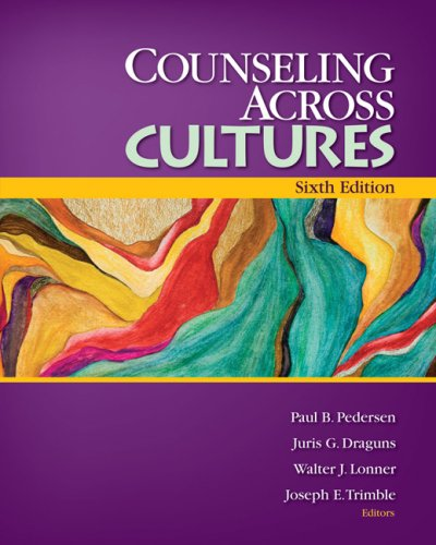 Counseling Across Cultures  6th 2008 edition cover