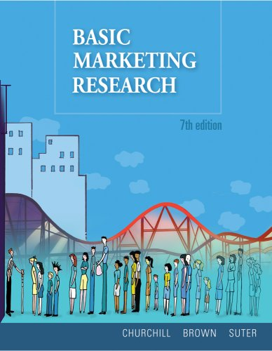 Basic Marketing Research (with Qualtrics Printed Access Card)  7th 2010 edition cover