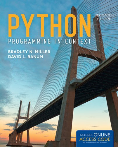 Python Programming in Context 2nd 2014 edition cover