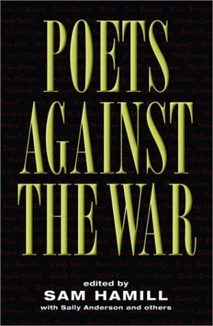 Poets Against the War   2003 9781560255390 Front Cover