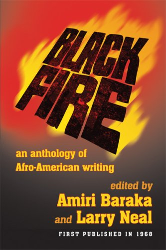 Black Fire An Anthology of Afro-American Writing N/A edition cover