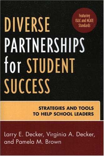 Diverse Partnerships for Student Success Strategies and Tools to Help School Leaders  2007 edition cover