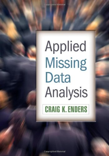 Applied Missing Data Analysis   2010 edition cover