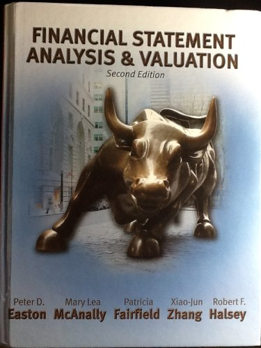 FINANCIAL STATEMENT ANALYSIS+V N/A edition cover