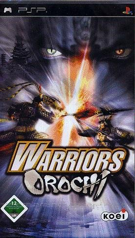 Warriors Orochi Sony PSP artwork