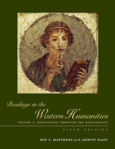 Beginnings Through the Renaissance  5th 2004 (Revised) edition cover