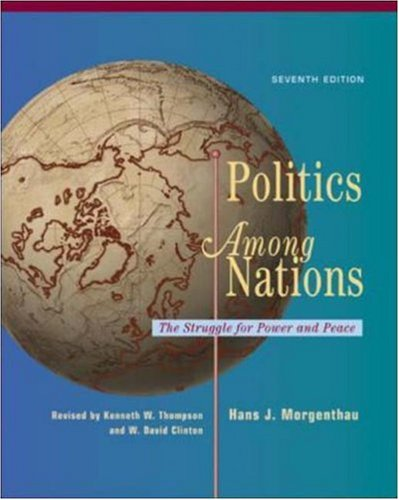 Politics among Nations  7th 2006 (Revised) edition cover