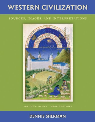 Western Civilization Sources, Images, and Interpretations 8th 2011 9780077382391 Front Cover