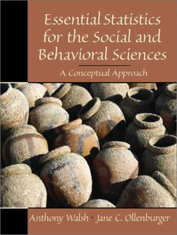 Essential Statistics for the Social and Behavioral Sciences A Conceptual Approach  2001 edition cover