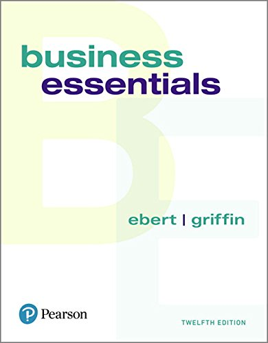 Business Essentials:   2018 9780134728391 Front Cover