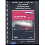 Worktext for Advanced Engine Performance Diagnosis  4th 2009 9780135060391 Front Cover