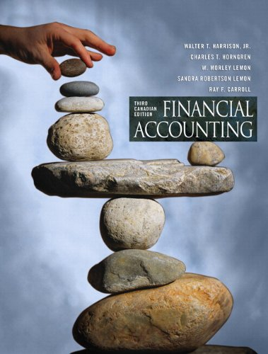 FINANCIAL ACCOUNTING >CANADIAN< -W/CD N/A 9780135086391 Front Cover