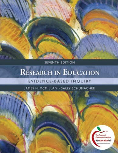 Research in Education Evidence-Based Inquiry 7th 2010 edition cover
