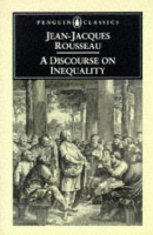 Discourse on Inequality   2003 edition cover