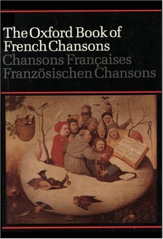 Oxford Book of French Chansons  N/A edition cover