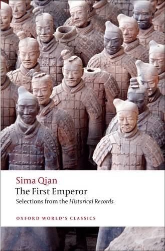First Emperor Selections from the Historical Records  2009 edition cover