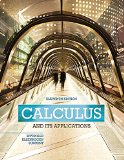 Calculus and Its Applications  11th 2016 9780321979391 Front Cover