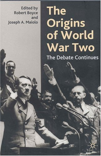Origins of World War Two The Debate Continues  2003 (Revised) 9780333945391 Front Cover