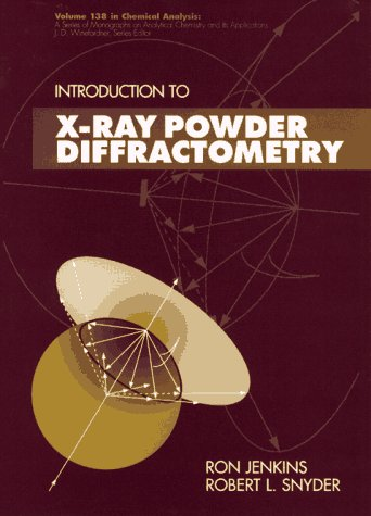 Introduction to X-Ray Powder Diffractometry  1st 1996 9780471513391 Front Cover