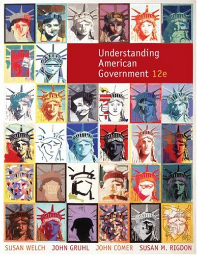 Understanding American Government  12th 2010 9780495568391 Front Cover