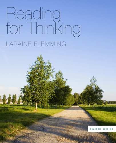 Reading for Thinking  7th 2012 edition cover