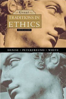 Great Traditions in Ethics  9th 1999 edition cover