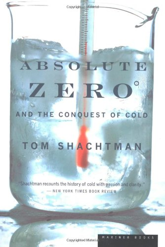 Absolute Zero and the Conquest of Cold   1999 edition cover